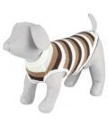 Svetr pro psy trixie hamilton hnědo-bílá l 55cm