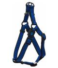 Postroj active dog premium m modrý 2x53-77cm