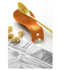 Oranžová odkládací lžíce na vařečky Steel Function Roma
