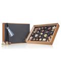 Chocolissimo - Chocoliscious s tabulí - Pralinky v elegantní dřevěné krabičce 340 g