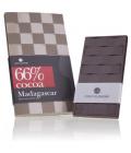 Chocolissimo - Tabulka hořké čokolády z Madagaskaru - 66% kakaa 80 g